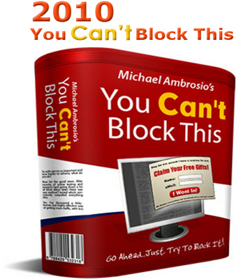 Product picture 2010  YOU Cant Block This! Unblockable Pop-up Creator