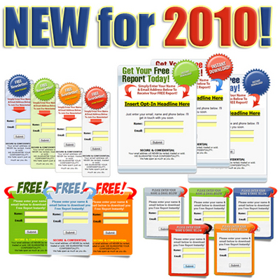 Product picture *NEW for 2010* Graphical Opt-In Box with mrr